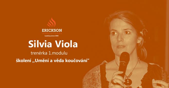 """Silvia Viola – trenérka 1. modulu tréninku ,,Umění a věda koučování"""""""