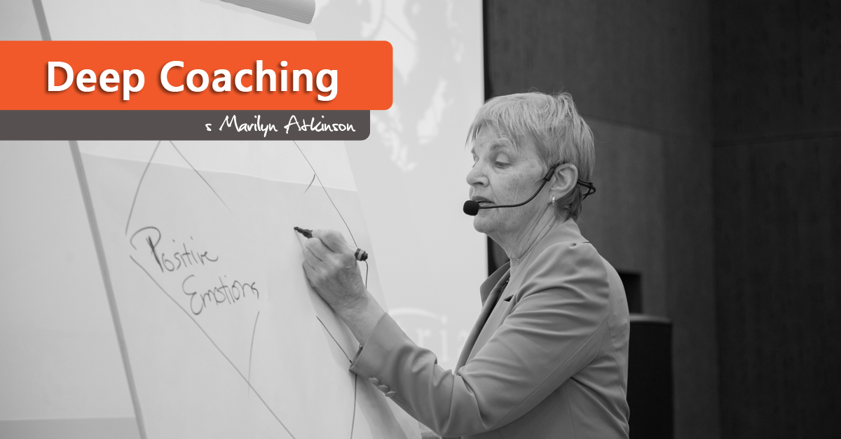 Deep Coaching s Marilyn Atkinson v Praze