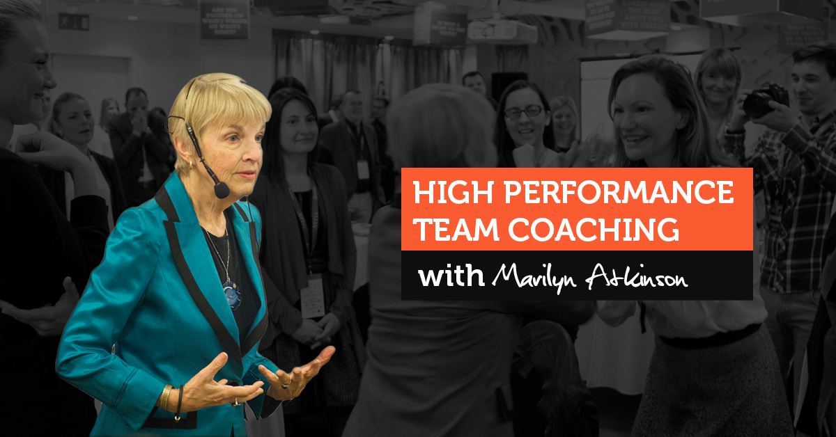 Team Coaching s Marilyn Atkinson v Praze