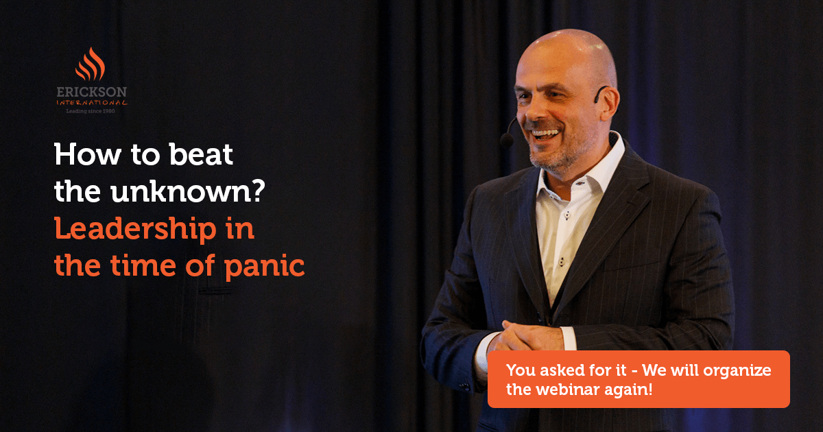 How to beat the unknown? – Leadership in the time of panic